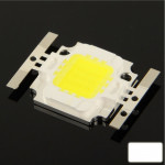 10W High Power White LED Lamp, Luminous Flux: 800lm-900lm