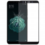 Front Screen Outer Glass Lens for Xiaomi Mi 6X (Black)