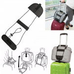 2 PCS Elastic Telescopic Bag Bungee Luggage Strap Fixed Strap (Black)
