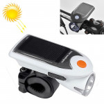 3W 240LM USB Solar Energy Motorcycle / Bicycle Front Light (White)
