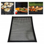 Barbecue Heat Resistant Non-stick Grilling Mesh BBQ Baking Mat, Size: 40 x 30cm