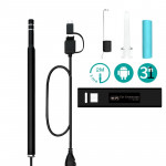 iw99A 1.3MP WiFi HD Visual Eardrop Endoscope Borescope with 6 LEDs, IP67 Waterproof, Lens Diameter: 5.5mm, Length: 2m