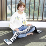 88 Key Thickened Version Learner Hand Roll Electronic Piano