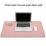 Multifunction Business PVC Leather Mouse Pad Keyboard Pad Table Mat Computer Desk Mat, Size: 60 x 30cm (Baby Blue)