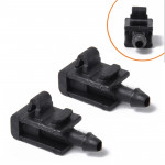 2 PCS Windshield Washer Wiper Jet Water Spray Nozzle Buckle 8200082347 for 2005-2007 Renault Megana 2