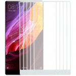 10 PCS Front Screen Outer Glass Lens for Xiaomi Mi Mix(White)