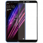 Front Screen Outer Glass Lens for OPPO A1 (Black)