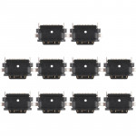 10 PCS Charging Port Connector for Nokia 6 (2nd Gen)