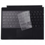 Tablet TPU Waterproof Dustproof Transparent Keyboard Protective Film for Microsoft Surface Pro 6 / 5 / 4