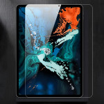 TOTUDESIGN 9H Surface Hardness Full Screen Tempered Glass Film for iPad Pro 12.9 inch (2018)(Transparent)