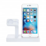 Multi-function Charging Dock Stand Holder Station for Apple Watch Series 42mm / 38mm, iPhone 5 / 5s / 6 / 6s / 7 / 7 Plus (White