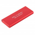 Richwell SSD R16-SSD-240GB 240GB 2.5 inch USB3.0 to NGFF(M.2) Interface Mobile Hard Disk Drive Box(Red)