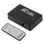 4K 3 Ports HDMI Switch with Remote Control