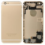 iPartsBuy for iPhone 6 Full Housing Back Cover(Gold)