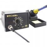 BEST BST-936E AC 220V Thermostatic Soldering Station Anti-static Electric Iron, EU Plug(Black)