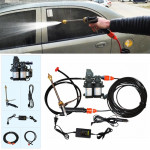 220V Portable Double Pump + Power Supply High Pressure Outdoor Car Washing Machine Vehicle Washing Tools