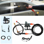 DC 12V Portable Double Pump High Pressure Outdoor Car Cigarette Lighter Washing Machine Vehicle Washing Tools