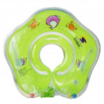 Circle Shaped Inflatable Baby Children Swimming Neck Ring(Green)