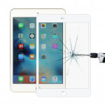 9H 11D Explosion-proof Tempered Glass Film for iPad Mini 4 (White)