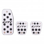 3 PCS Automatic Transmission Car Pedals Pads for Honda City