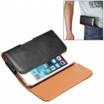 Horizontal Style Lamb Skin Texture Waist Bag with Back Splint for iPhone 4 / 4S / 3G / 3GS