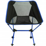 Outdoor Portable Folding Camping Chair Light Fishing Beach Chair Aviation Aluminum Alloy Backrest Recliner