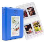 64 Pockets Name Card Pieces for Fujifilm Instax Mini 8 /7s /70 /25 /50s /90(Blue)