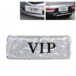 2 PCS Dust-proof Cover for Car License Plate, Random Delivery