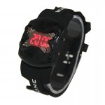 Fashionable and Precision DRONE Silicone Strap Wrist LED Watch Cool Men Sexy Lady Digital Sport Watch(Black)