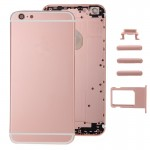 iPartsBuy Full Assembly Housing Cover for iPhone 6 Plus, Including Back Cover & Card Tray & Volume Control Key & Power Button &