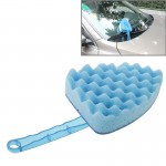 Household Cleaning Sponge Car Wash Sponge with Handles(Blue)