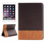 Cross Texture Horizontal Flip Smart Leather Case with Holder & Card Slots & Wallet for iPad Mini 4(Coffee)