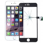 0.26mm 9H+ Surface Hardness 2.5D Curved Surface Full Screen Cover Explosion-proof Tempered Glass Film for iPhone 6s Plus(Black)