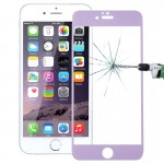 0.26mm 9H+ Surface Hardness 2.5D Curved Surface Full Screen Cover Explosion-proof Tempered Glass Film for iPhone 6s(Purple)