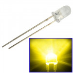 1000pcs 3mm Yellow Light Water Clear LED Lamp (1000pcs in one packaging, the price is for 1000pcs)