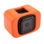 PULUZ Floaty Case with Backdoor for GoPro HERO5 Session /4 Session(Orange)