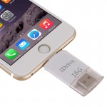 16GB 8 Pin USB iDrive iReader Flash Memory Stick for iPhone 6 & 6s, iPhone 6 Plus & 6s Plus, iPhone 5 & 5C & 5S