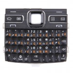 iPartsBuy Mobile Phone Keypads Housing Replacement with Menu Buttons / Press Keys for Nokia E72(Black)