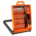JAKEMY JM-8101 33 in 1 Screwdriver Bit Set with Tweezers & Extension Bar
