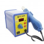 BEST BST-858D AC 220V 50Hz 650W LED Displayer Adjustable Temperature Unleaded Hot Air Gun with Helical Wind(Blue)