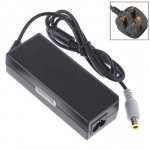 UK Plug AC Adapter 20V 4.5A 90W for ThinkPad Notebook, Output Tips: 7.9 x 5.0mm