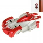 Superior Cool Infrared Control Toy Car Remote Control RC Wall Climber Car Climbing Stunt Car(Red)