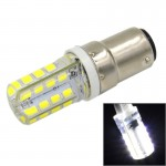 B15 3.5W White Light 240LM 32 LED SMD 2835 Silicone Corn Light Bulb, AC 220V