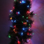 5m 50 LED RGB Light Battery String Decoration Light for Christmas Party