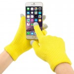 Three Fingers Touch Screen Winter Warm Touch Gloves for iPhone 6 & 6s / iPhone 5, iPad, HTC and Other Touch Screen Device, Size: