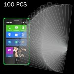 100 PCS for Nokia XL 0.26mm 9H+ Surface Hardness 2.5D Explosion-proof Tempered Glass Film