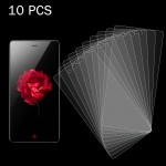 10 PCS 0.26mm 9H Surface Hardness 2.5D Explosion-proof Tempered Glass Screen Film for ZTE Nubia Z9 Mini