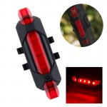 AQY-093 Detachable USB Rechargeable LED Bike Taillight(Red)