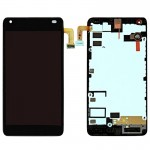 iPartsBuy For Microsoft Lumia 550 LCD Screen + Touch Screen Digitizer Assembly with Frame(Black)