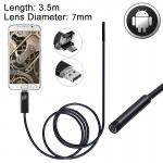 2 in 1 Micro USB & USB Endoscope Waterproof Snake Tube Inspection Camera with 6 LED for Newest OTG Android Phone, Length: 3.5m,